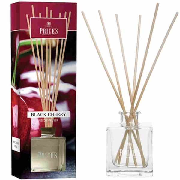 Price's Black Cherry Scented Room Air Fragrance Reed Diffuser